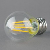 G45 E27 2W 4W Clear Glass LED Filament Bulb Edison Warm White Lamp