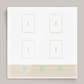 LTECH TK-RF04-A Wall Switch Led Controller Smart Home Intelligent Control Panel