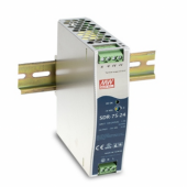 SDR-75 75W Mean Well Single Output Industrial DIN RAIL Power Supply