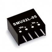 SMU02 2W Mean Well Unregulated Single Output Converter Power Supply 2Pcs