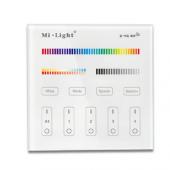 Mi.Light 4-Zone RGB+CCT Smart Touch Panel Remote Controller B4