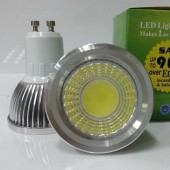 New COB 6W Dimmable LED Spotlights 120 Angle Led Lamp