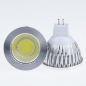 New COB 6W MR16 Dimmable LED Spotlights 120 Angle LED Lamp
