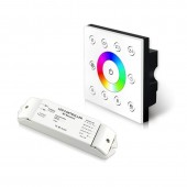 Bincolor Led Controller P7X+R4-2.4G Wireless Multi-Zone RGB DMX512 Panel