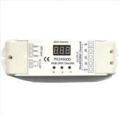 DMX512 12V 24V 4 Channels Constant Voltage Decoder Euchips Controller PX24500D