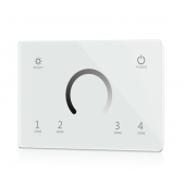 T11-IT Skydance Led Controller 85-265VAC 4 Zones 2.4G Brightness Touch Panel Remote Control