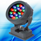 RGB 18W DMX Round LED Spotlight Programmable Project Light