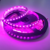 SMD 3528 Pink Flexible Led Strip Light 5m 600 Leds Non-Waterproof