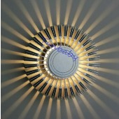 Sunflower Aluminum 3W Led Wall Lamp decor light AC 85-265V