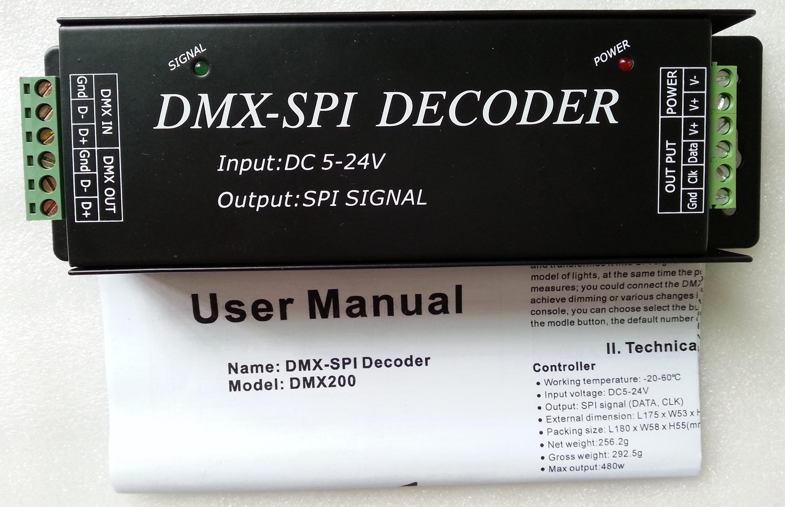 Dmx 512 Decoder Setup