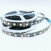 12 Volts 5050 Smd 4 in 1 Black Pcb Flexible RGBW LED Light Strip 60leds/M