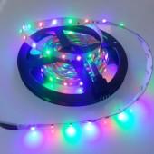 12V 3528 Flexible RGB LED Strip Light 5M 300 LEDs Non-Waterproof