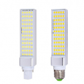 Rotatable Turn 12W LED Corn Bulb G24 120 x SMD 3014 Light Lamp
