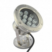12W LED Underwater Light 12LEDs IP68 Fountain DownLights DC12V
