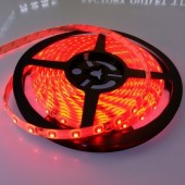16.4Ft 300 Leds Waterproof Red SMD 3528 LED Flexible Strip Light 12V