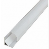 1 Meter V shape Aluminium Channel LED Cabinet Light Fixtures