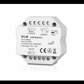 V1-H Skydance Led Controller 1CH*3A/6A 12-48VDC CV Dimming Controller Push Dim
