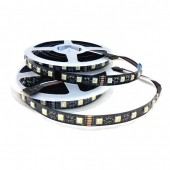 24 Volts 4 Colors in 1 Chip 5050 Smd Black Pcb LED RGBW Flexible Light Strip