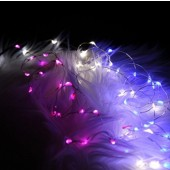 2M 20LEDs Copper Wire Party Tree Holiday AA Battery LED String