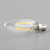 2W E14 E12 LED Filament Bulb Retro LED Candle Light AC 110V 220V