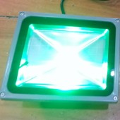 30W LED Outdoor Floodlight Waterproof Integrated RGB Lamp