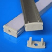 3.28 Feet Aluminium Profile 1 Meter LED Channel Cabinet Light Fixtures