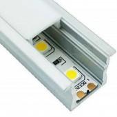 3.28 Ft Aluminium Channel 1 Meter LED led Aluminium Diffuser