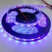 16.4Ft 5 Meters Waterproof 3528 Led Purple Strip Lights Strip 60Leds/M