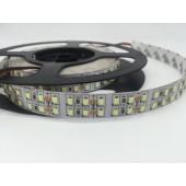 5M Double Row DC12V 2835 LED Ice Blue Strip Light 120LEDs/m Ribbon
