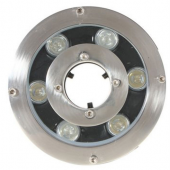 6W IP68 Waterproof LED Fountain Lamp Underwater Pond Swimming Pool Light