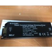 Euchips 75W 12V DC Constant Voltage Dimmable Driver EUP75T-1H12V-0 CV Driver