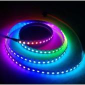 7mm width Addressable 1M 144LEDs 5V SK6812 3535 SMD LED Pixel Light Strip