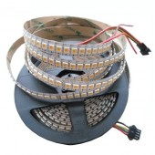 1M APA102 144Leds Addressable White Led Strip 5V 5050 Pixel Light