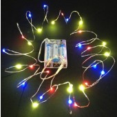 Battery operated DC4.5V 20-LEDs 2Meters Copper Wire LED String Light