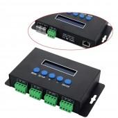 BC-204 Artnet to SPI DMX Led Controller Pixel Light Bincolor Eternet Protocol 5V-24V