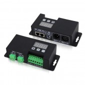 Bincolor BC-854-CC 4CH DMX512 Decoder 3-digital-display Signal Driver Led Controller
