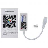 Mini LED Bluetooth RGBW RGB LED Controller DC 12V 24V
