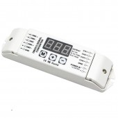 BC-834-PWM5V/BC-834-PWM10V Bincolor Led Controller 3-Digital-Display 4CH DMX512 Control