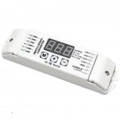 BC-834-PWM5V/BC-834-PWM10V Bincolor 3-Digital-Display 4CH DMX512 Control  Led Controller