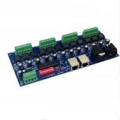WS-DMX-HLB-12CH-350MA 5-36V 350ma 12ch DMX 512 Decoder With RJ45 XRL 3P
