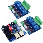 WS-DMX-RELAY-4CHX2 Relay Switch Dmx512 Controller Decoder