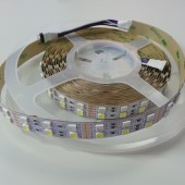 Dual Rows DC 12V SMD 5050 RGBW LED Strip Light 5M 600LEDs