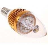 E14 3W LED Candle Lamp LED Bulb Light AC 85V-265V