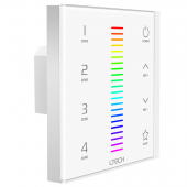 2.4G EX7 RGB LED Touch Panel LTECH RF Wall Mounted Controller