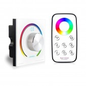 Bincolor BC-K3-T3 Switch Knob Wall RGB Rotary Dimmer Led Controller