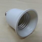 LED Lamp Base Adapter E12 to E27