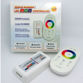 LED RGB Controller 2.4G Touching Screen RF Remote Control System