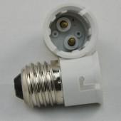 LED Spotlight Adapter E27 to B22 Base Converter