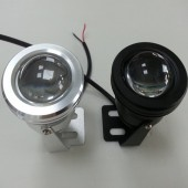 LED Underwater Light 10W Single Color Downlights With Convex Lens