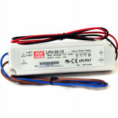 LPV-35 Mean Well 35W Single Output Switching Power Supply